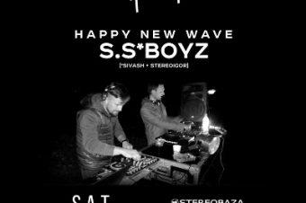 "S.S*BOYZ ""Happy New Wave"" @Keller Суб, 24/01/2015"