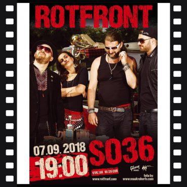 15-летие RotFront в Берлине