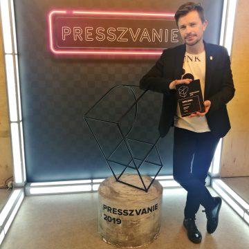 """Stereoigor награждён на PRESSZVANIE'2019: """"Культура / Музыка"""""""