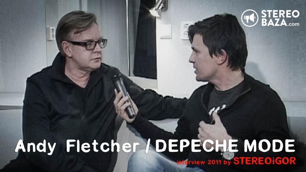 """Энди Флетчер / Depeche Mode: """"Было мечтой, чтоб нашу музыку играли на радио"""""""