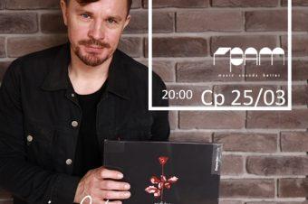 "Ср, 25 марта: ""Stereorama"" vol.4 со Stereoigor — Depeche Mode «Violator» @GRAM Bar"