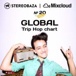 STEREOBAZA — №20 в GLOBAL Trip Hop чарте Mixcloud