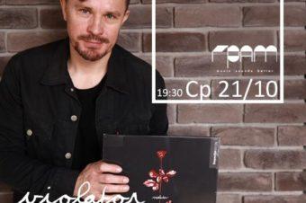 Ср, 21/10: Stereorama vol.4 со Stereoigor — Depeche Mode «Violator» в GRAM Баре