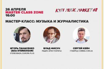 STEREOBAZA на Kyiv Music Market #2, 26/04/2015